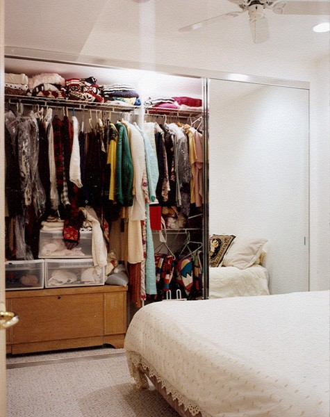 View Larger Image. Sliding Mirrored Closet Doors