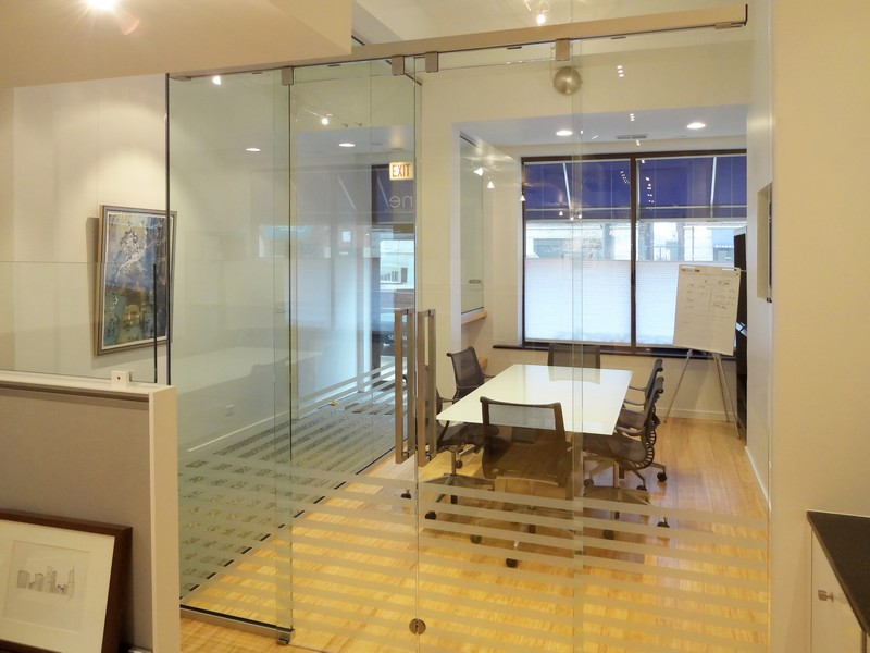 Interior Glass Doors Walls Offices Creative Mirror Shower