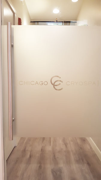 Glass Signage and Corporate Logos