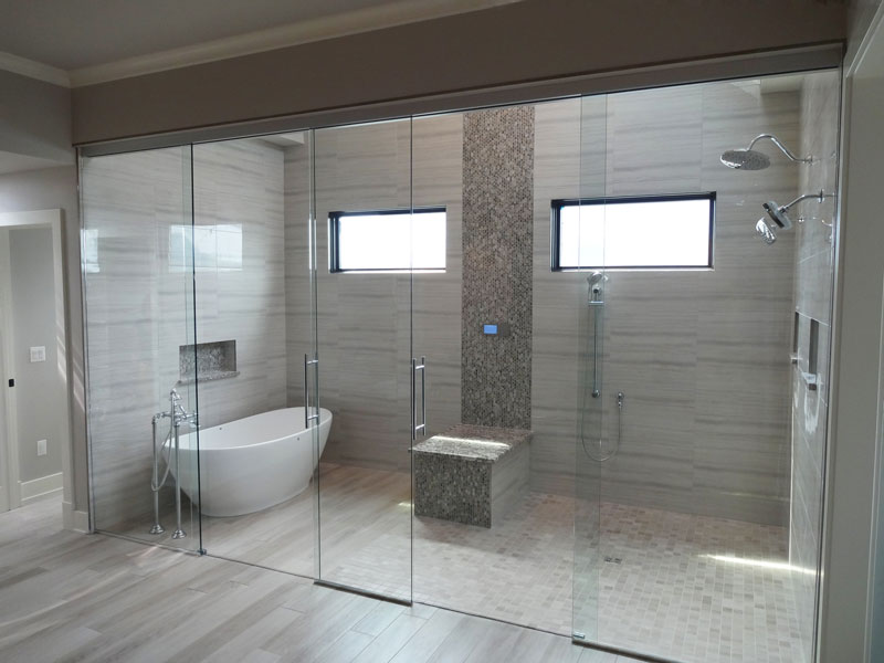 Wet Rooms Creative Mirror Shower