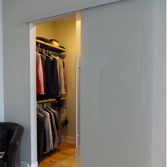 Sliding Glass Barn Closet Doors