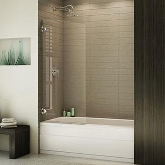 Fleurco Shower Doors Creative Mirror Amp Shower