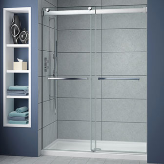 Bypass Sliding & Glass Shower Doors \u0026 Enclosures | Creative Mirror \u0026 Shower