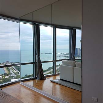 Living Rooms | Creative Mirror & Shower