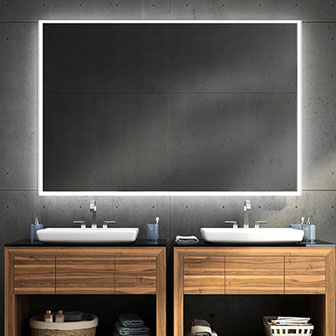 Fleurco Luna Lighted Mirrors