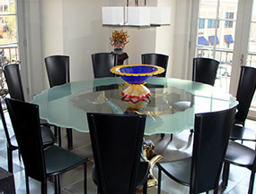 Glass Tables, Shelvings & Standoffs