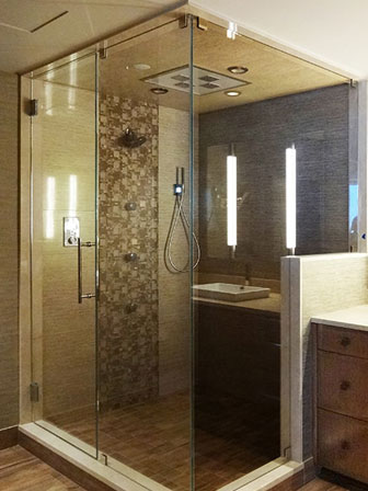 Frameless Shower Doors & Enclosure | Creative Mirror & Shower