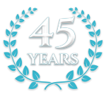 45th Anniversary Logo