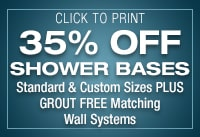 Shower Base Coupons
